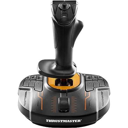 Thrustmaster T-16000M FC S, Joystick PC (4 Ejes + 16 Botones + Un Hat Switch Point Of View De 8 Direcciones), USB, Alámbrico, Windows, Tamaño Único, Negro/Naranja