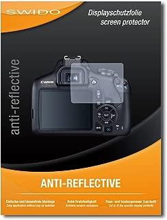 SWIDO/® Protector de Pantalla para Nikon D3500 Transparente Crystal Clear Invisible Pel/ícula Protectora 2 Piezas , Anti-Huella Dactilar