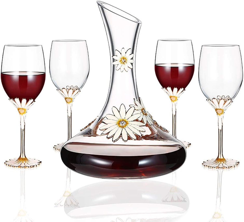 punto de venta de la marca YONGMEI Copas de Vino - - - Vino Tinto y Copas de Vino, Traje de Seis Piezas (Color   Claro)  selección larga