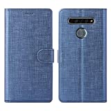 Foluu LG K61 Case, Flip/Folio Cover Wallet Magnetic Closure