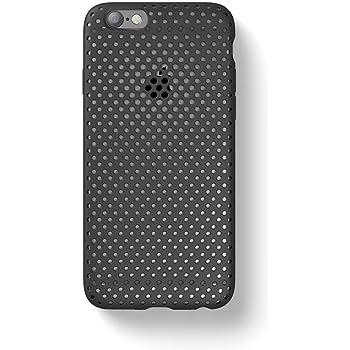 AndMesh iPhone6s iPhone6 ケース Mesh Case シンプル 放熱 軽量 耐衝撃 ブラック AMMSC661-BLK