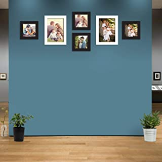 Art Street 6 Black & White Wall Photo Frames Collage Picture Frames Wall Gallery Kit for Wall and Home Mix Size (4 Units 5...