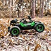 BEZGAR 17 Toy Grade 1:14 Scale Remote Control Car, 2WD High Speed 20 Km/h All Terrains Electric Toy Off Road RC Monster Vehicle Truck Crawler with Two Rechargeable Batteries for Boys Kids and Adults #3