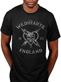 Official The Wildhearts England 1989 T-Shirt