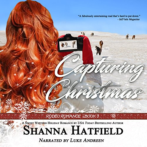 Capturing Christmas audiobook cover art