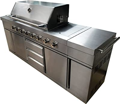 Amazon Com Charmglow Gas Grill Natural Gas Built In Drop