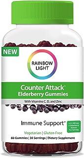 RAINBOW LIGHT Counter Attack Immune Gummies, 60 CT