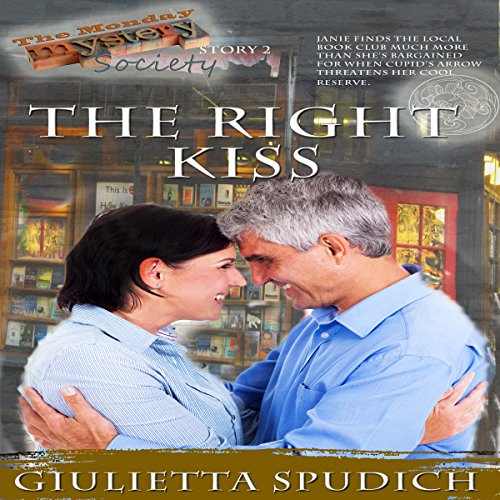 The Right Kiss audiobook cover art