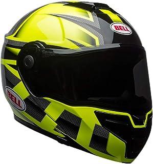 Capacete Bell Helmets Srt Modular Hi Viz Verde Preto 56