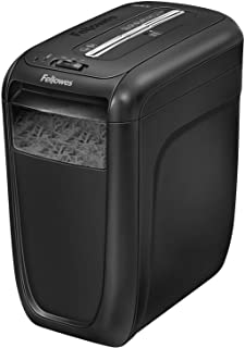 Fellowes Powershred 60Cs Light, Duty Cross, Cut Shredder, 10 Sheet Capacity, Black (4606001)