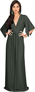 olive green formal gown