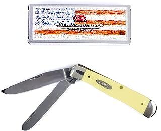 Case XX 80161 Trapper Yellow SS Folding Knife