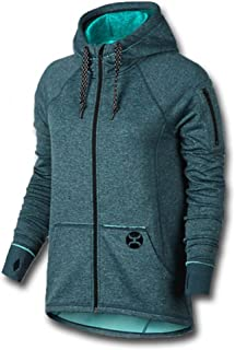 finest selection a3a11 32f0a HOOey Brand Teal Full Zip Hoodie Jacket - HH1131