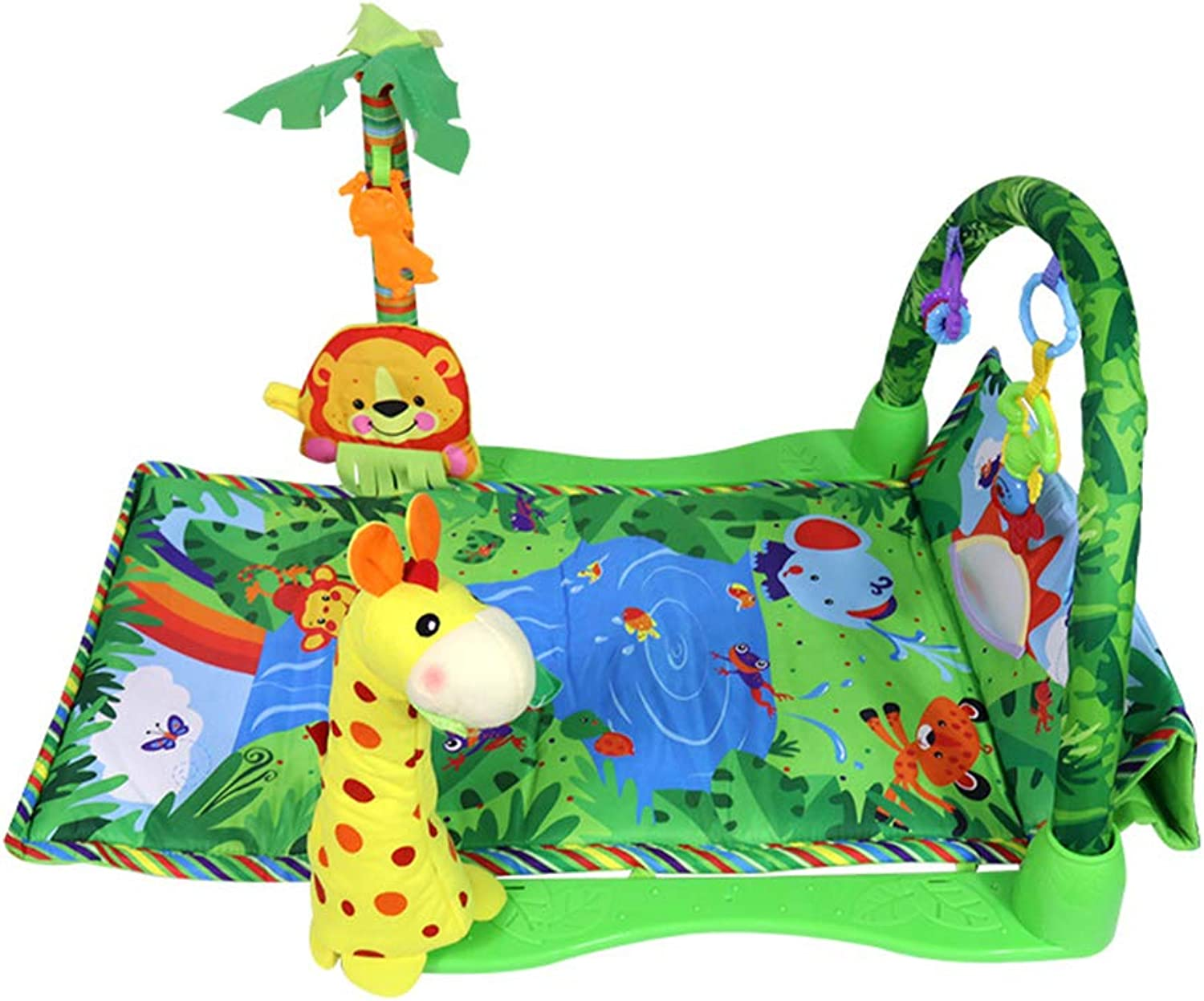 Thole Baby Activity Mat Gym Musical Toys Boy and Girl Newborn Gift Lay and Play Sit