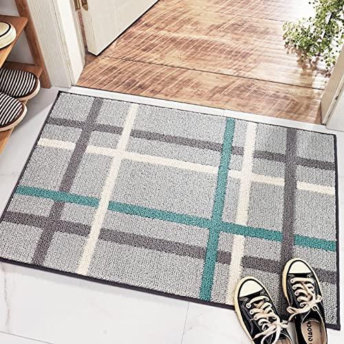 N\C Floor Mats Home Kitchen Bathroom Non-Slip Wear-Resistant Entrance Door Step Mat Carpet