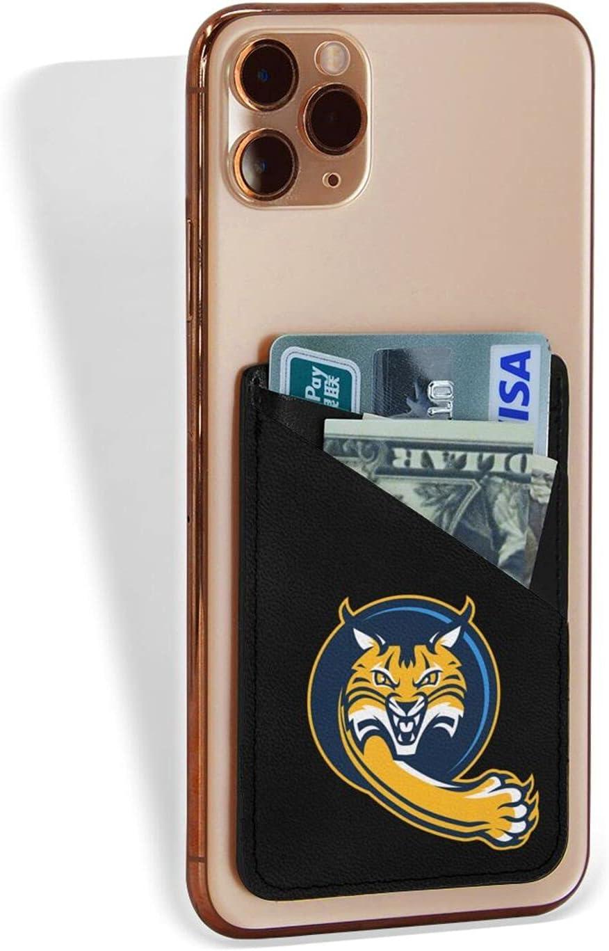 Quinnipiac University Logocredit Card Holder Fashion Mobile Phone Card Package 3.1 X 2.5 in