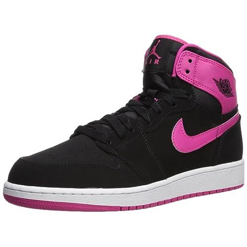 hot sales 6d522 369b4 Pink and Black Jordans: Amazon.com