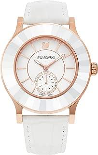 Swarovski Octea Classica Watch - white, rose gold