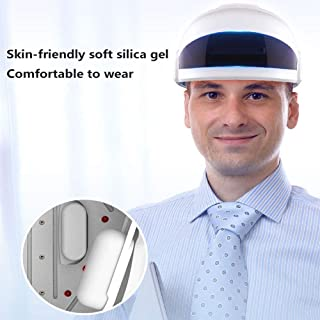 Laser Hair Growth System - FDA-Cleared Hair Loss Treatment & Treats Balding, Stimulates Hair Growth, Reverses Thinning, Regrows Hair. Thinning Hair for Men and Women