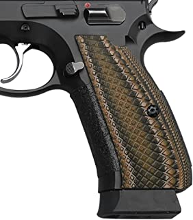 Cool Hand G10 Grips for CZ 75 Full Size, Shadow 2 SP-01 Series 75B BD, Snake Scale Texture