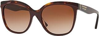 بيربري نظارة شمسية مربع للنساء , بني - BE4270 373013 55