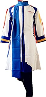 Mister Bear Vocaloid 2 Kaito Cosplay Costume New + Free Wig