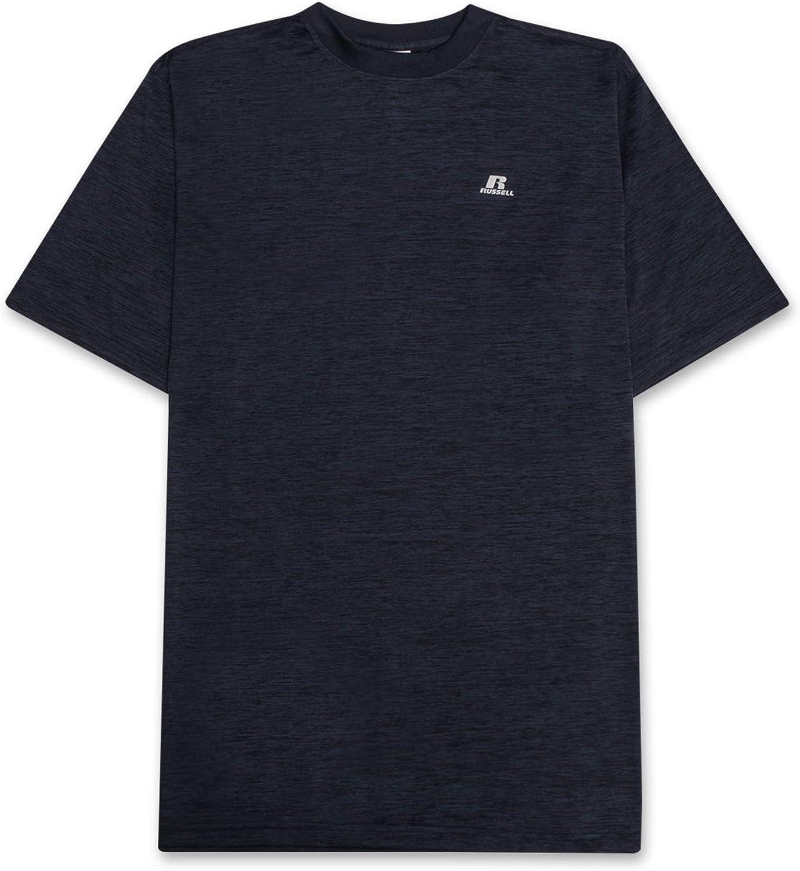 Russell Big & Tall T Shirts for Men Active Moisture Technology