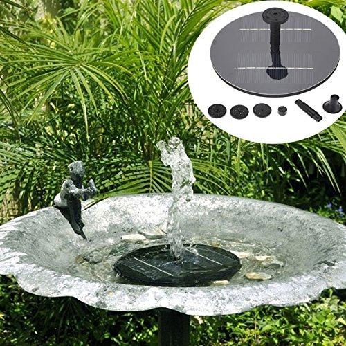 Innovation ey Mini-zonnepaneel, 8 V, 1,4 W, borstelloos waterpomp, voor in de tuin, zwembad, zwembad, zwembad, zwembad, zwembadkit