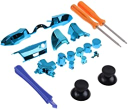 Replacement Xbox One Controller Parts 18-in-1 Set Swap Thumbsticks Compatible Accessories for Xbox One Elite Controller Accessories(18-in-1 Blue)