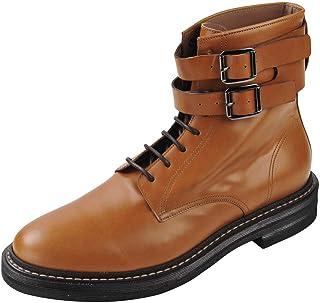 BRUNELLO CUCINELLI Chaussures Homme Marron Clair 100% Cuir Bottes 42