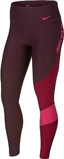 Nike Women Advantage Court Sports Pants - Burgundy, Burgundy, L (620830-480. S)
