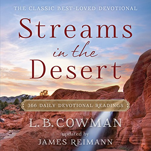 Streams in the Desert audiobook cover art
