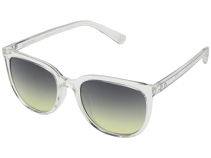 Spy Optic Fizz (Clear/Green Sunset Fade) Sport Sunglasses