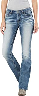 Enjoybuy Womens Basic Bootcut Skinny Jeans Bell Bottom Flare Stretch Denim Jeans Mid Rise