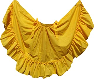 Dance Skirt for Folkloric Mexican or Flamenco Dancing (Choose Size)