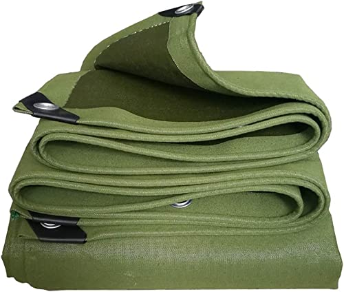 Bache Se Pliante extérieure, couvertures imperméables de remorque de Tente de Sol, Tissu de Couverture de Camping de Jardin, 600G   M2 (Taille   4M×8M)
