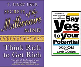Secrets Of The Millionaire Mind +Say Yes to Your Potential (Set of 2 Books)