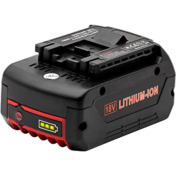 Vinso - Batería de repuesto para Bat609 (18 V, 5 Ah)