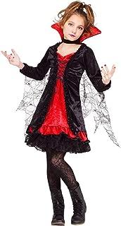 Lace Vampiress Kids Costume