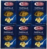 Barilla Farfalle, 16 oz, paquete de 6