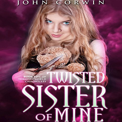 Twisted Sister of Mine audiobook cover art