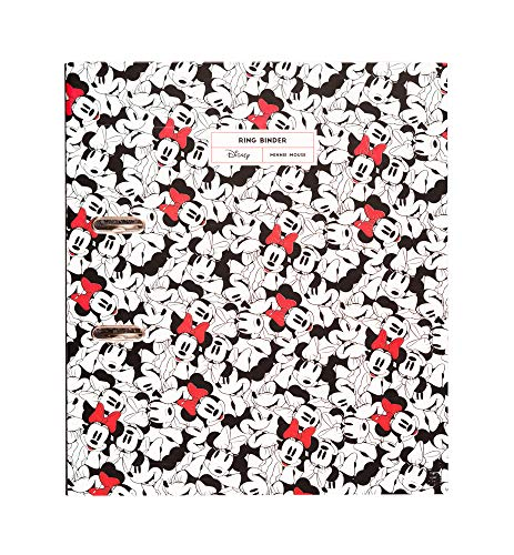 Erik Aktenordner Minnie Mouse Rocks the Dots mit Hebelmechanik - Ringbuchordner/Ordner