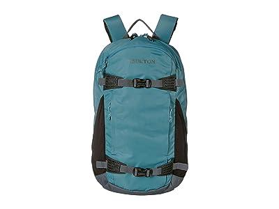 Burton Dayhiker 25L (Storm Blue Crinkle) Day Pack Bags