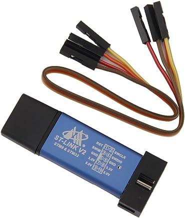 Generic PZIN51000043 Imported St-Link V2 Programming Unit Mini Metal Shell Stm8 Stm32 Emulator Dow