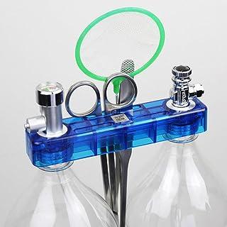 mewmewcat Kit de sistema gerador de CO2 DIY com medidor de pressão, regulador de fluxo de ar seguro Vavle, acessório para ...