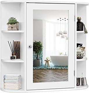 Best bathroom wall cabinet with mirror Reviews