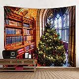 Tapiz para decoración del hogar con diseño navideño