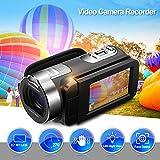 1080P Full HD Tragbare Digitale Videokamera 2.7 TFT LCD 24MP 16x Zoom Camcorder DV AV Ausgang Nachtlicht schwarz