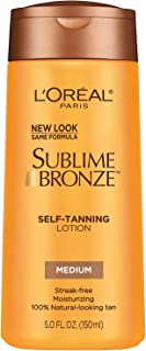 Loción autobronceadora L'Oreal Paris Sublime Bronze Medium 5 fl. oz.