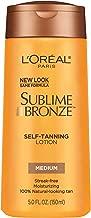 L'Oreal Paris Sublime Bronze Self-Tanning Lotion Medium 5 fl. oz.